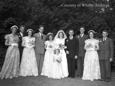 Brown-Eastwood Wedding, July 28, 1948