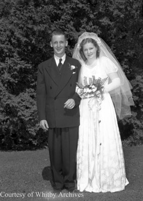 Brown-Eastwood Wedding, July 28, 1948