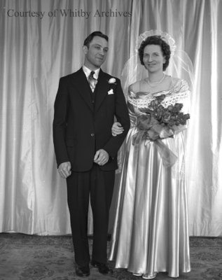 Watts-Brooks Wedding, March 9, 1948