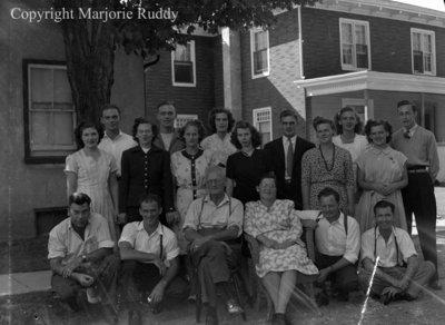 Unidentified Family, c.1950