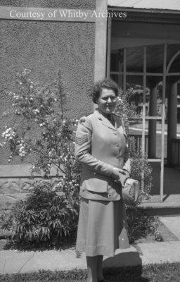Unidentified Woman in Uniform, c.1940s