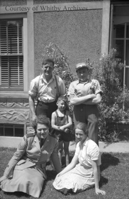 Unidentified Family, c.1940s