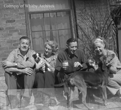 Mr. MacLeod and Family, April 1945