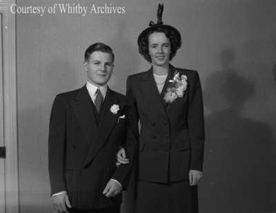 Mr. & Mrs. Reginald Stuart, October 11, 1947