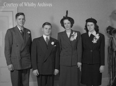 Stuart Wedding, October 11, 1947
