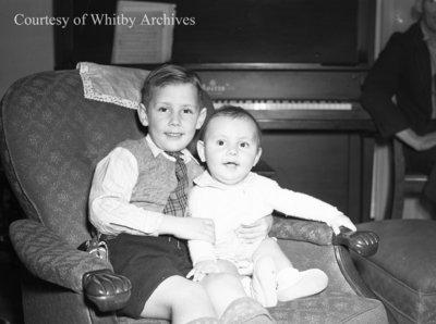 Wagstaff Children, December 7, 1947