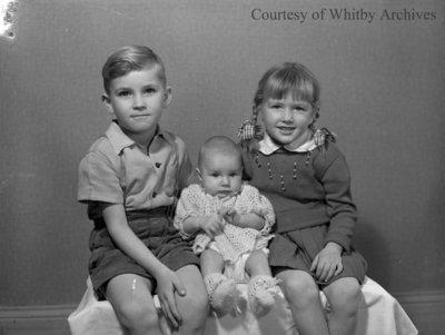Townsend Children, November 24, 1947
