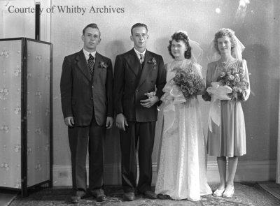 Ricard Wedding Party, September 27, 1947