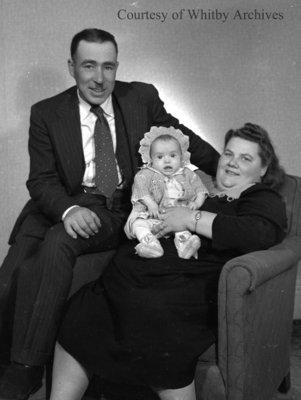 Parkin Family, November 16, 1947