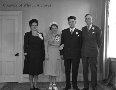 Murdock Wedding, November 29, 1947