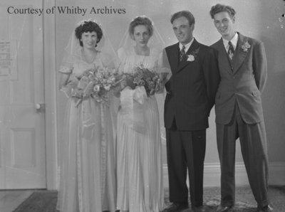 Gillard Wedding, c.1947