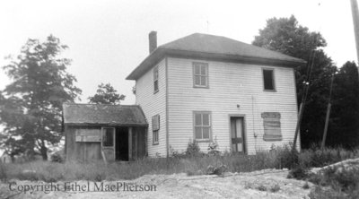 Myron Vipond House, August 1958