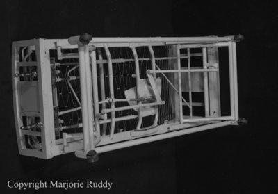 Model of Beecroft Hospital Bed, April 30, 1950