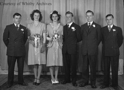 Crawford-Gill Wedding, June 14, 1947