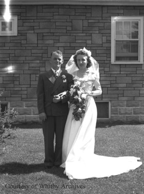 Crago Wedding, July 27, 1946
