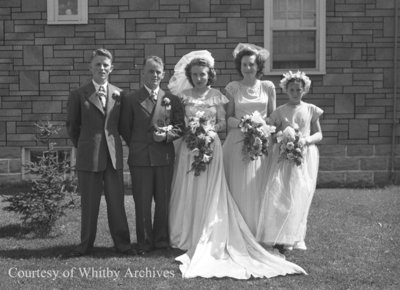 Crago Wedding, July 27, 1946