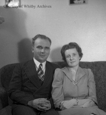 Bush Family, January 7, 1945