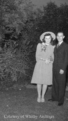 Barton Wedding, August 1941