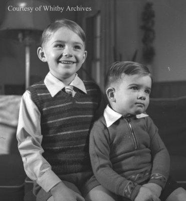 John and William Brant, December 1944
