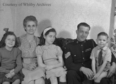 Reardon Family, December 6, 1946