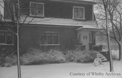 Snow Covered House, January 1939