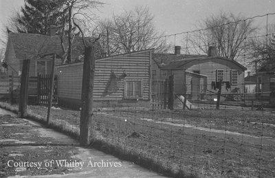 1728 Brock Street South Fence Line, February 1938