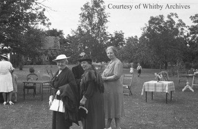 W.M.S. Garden Party, June 1939