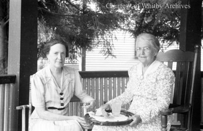 Ethel McMillian and Mrs. Graham, August 1939