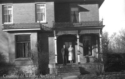 Reverend and Mrs. Marshall, November 14, 1939