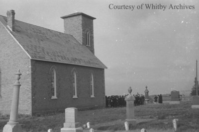 St. James Anglican Church and Cemetery, c.1939