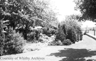 Gardens at Stonehaven, June 1939