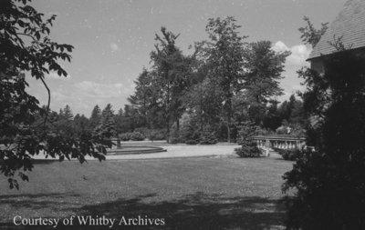 Gardens at Stonehaven, June 1939