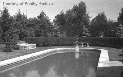 Water Feature at Stonehaven, June 1939