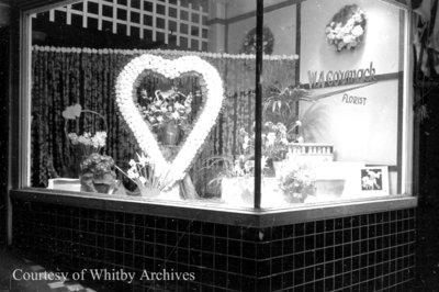 W.A. Cormack Valentine Display Window, February 1940