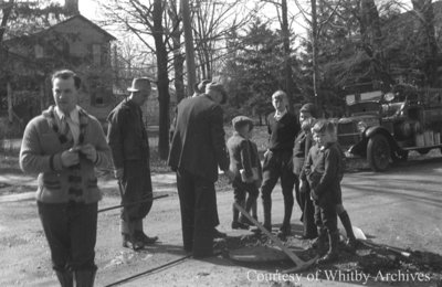 Spring Sewer Main Cleanup, c.1938