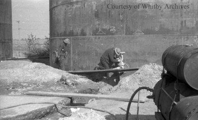 Argo Petroleum Tanks, October 19, 1938
