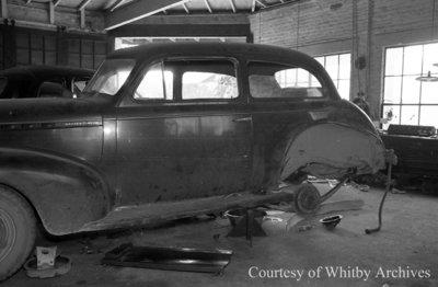 Car Wreck, July 5, 1941