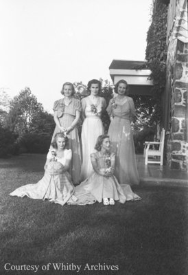 Arnold/Young Wedding, August 18, 1939
