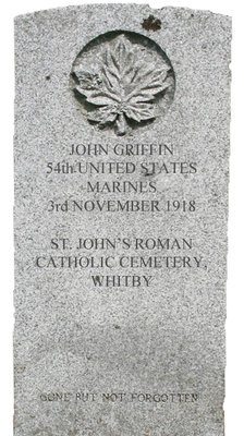 Gravestone for John Griffin
