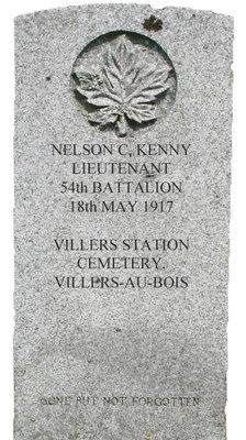 Gravestone for Nelson C. Kenny