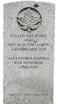 Gravestone for Cullen Hay Perry
