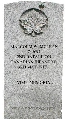 Gravestone for Malcolm W. McLean
