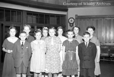 Whitby Festival Participants, May 13, 1938