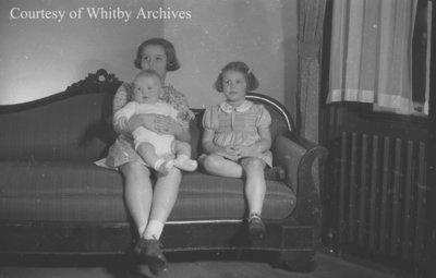 Thompson Children, November 21, 1939