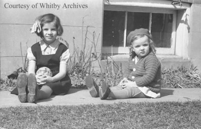 Marion Rowe and Helen Maguire, March 22, 1938