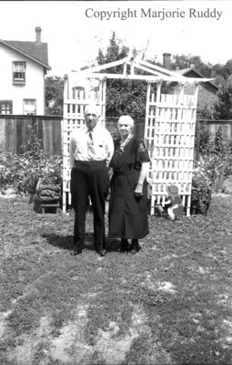 James and Alice Sawdon, July 16, 1939