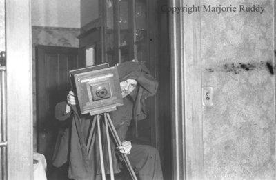 Gerald and camera, c.1939