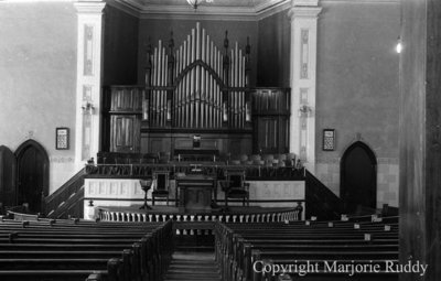 Whitby United Choir Loft, July 12, 1939
