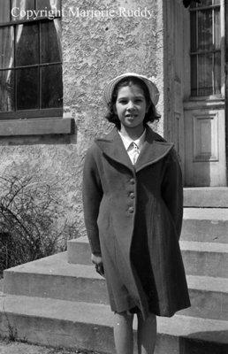 Carolyn Ruth Beecroft, c. 1953