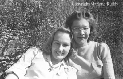 Unidentified Women, c.1945